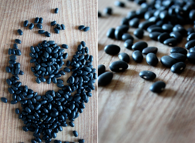how to cook unsoaked black beans