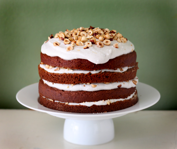 Happy Birthday to Me! Pumpkin Spice Cake with Coconut Vanilla Icing ...