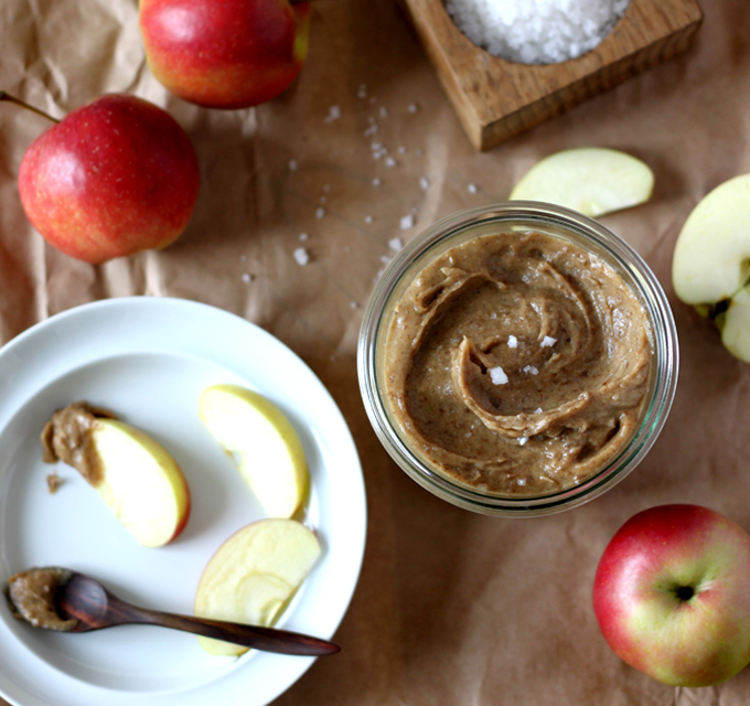Raw Salted Caramel Apple Dip - My New Roots