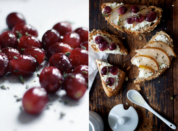 Homemade Goat S Milk Ricotta On Toast With Roasted Fruits