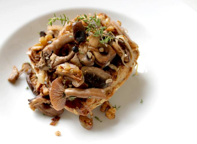 mushrooms on toast is that they are truly mushrooms on toast recipe on ...