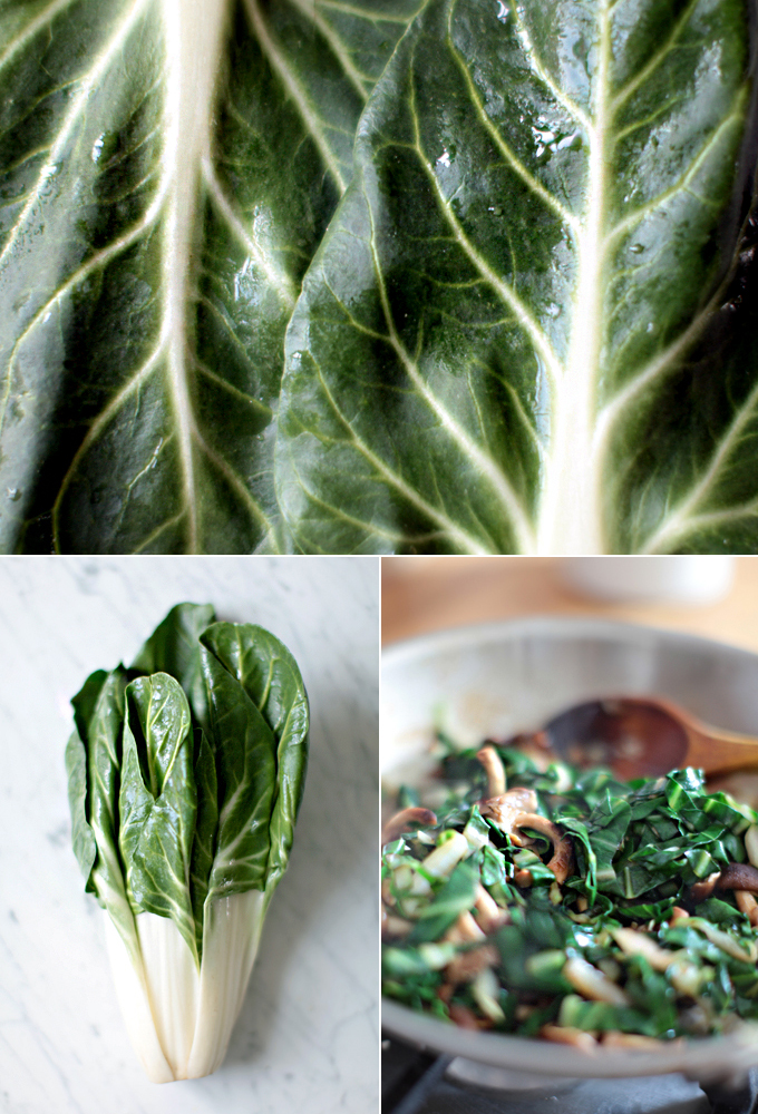 Baby Bok Choy With Shiitake Mushrooms Recipe — Dishmaps