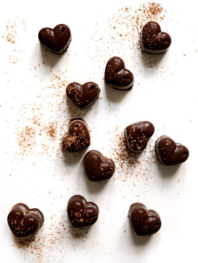healthy, gluten free, valentines, chocolate