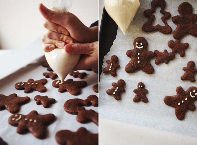 Healthy Holiday Gingerbread // My New Roots