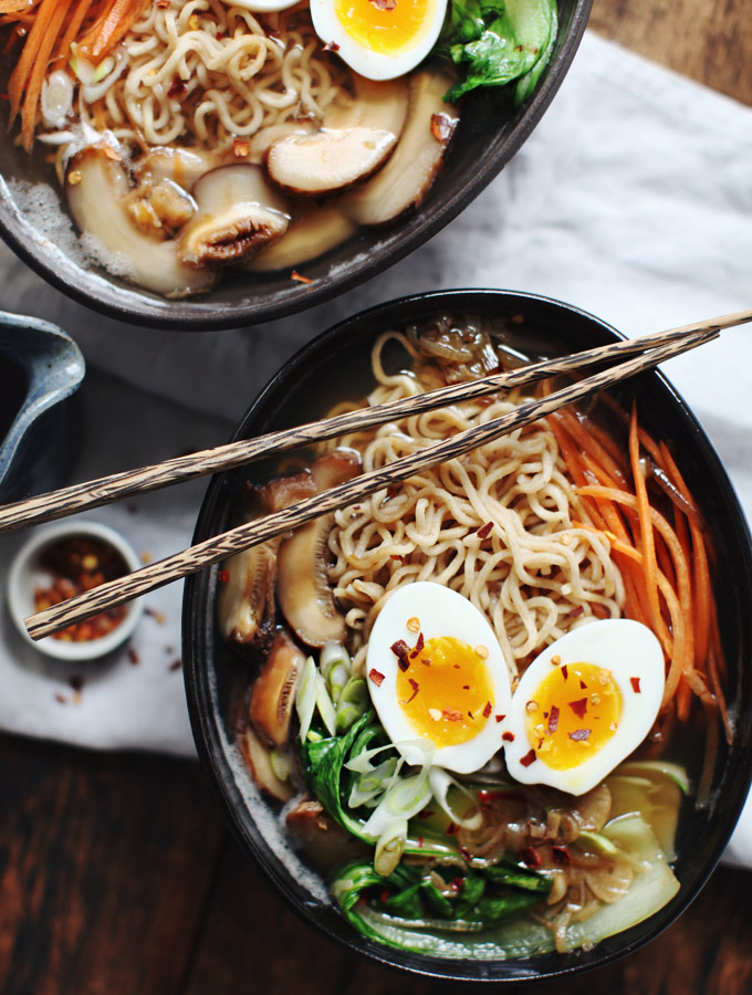 Ramen Revisited + How to make Dashi