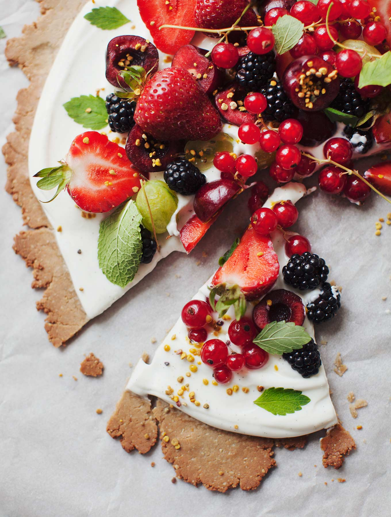 Summer Celebration Fruit Tart