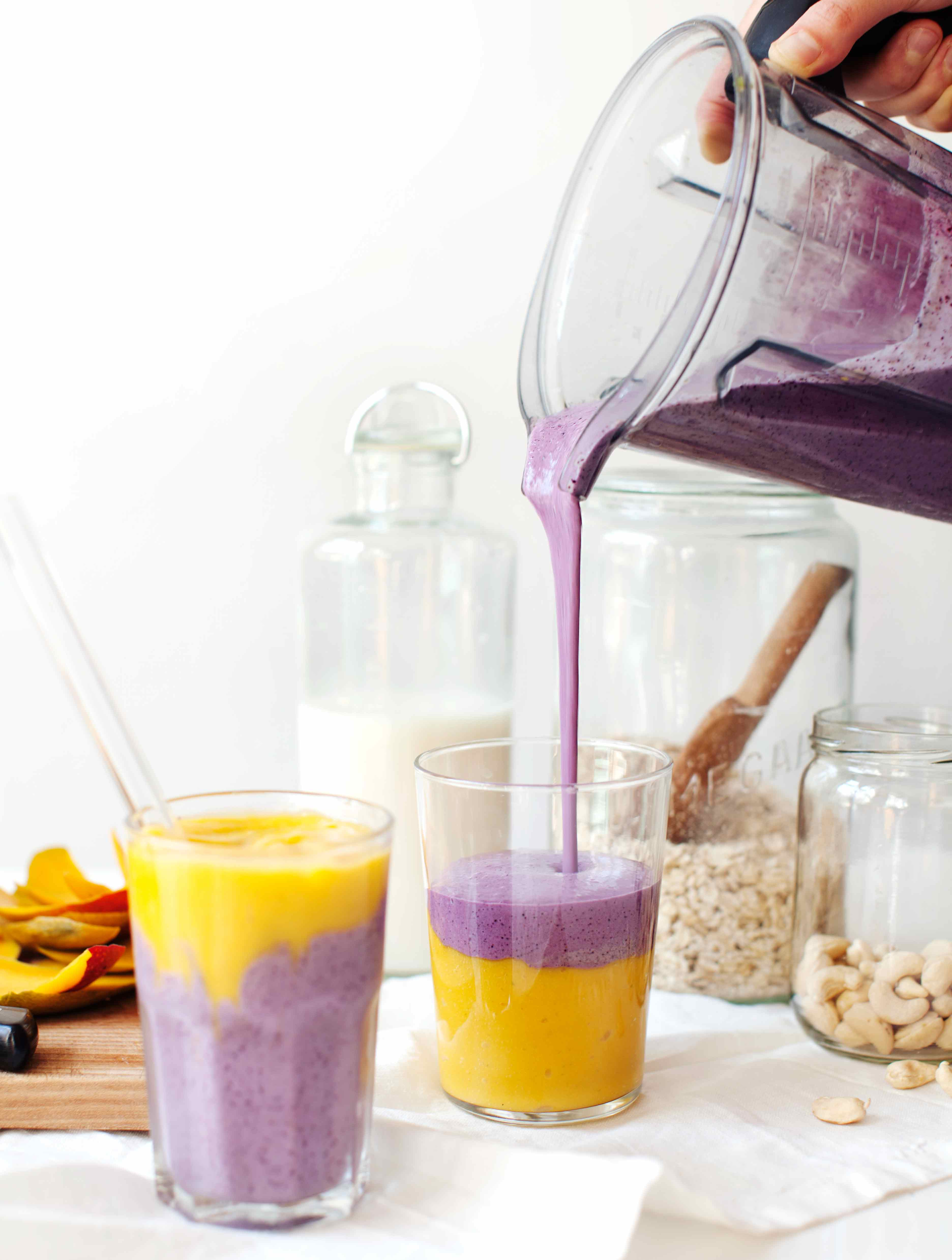 Tess's Blueberry Breakfast Tart + Mystical Mango Smoothies | My New ...