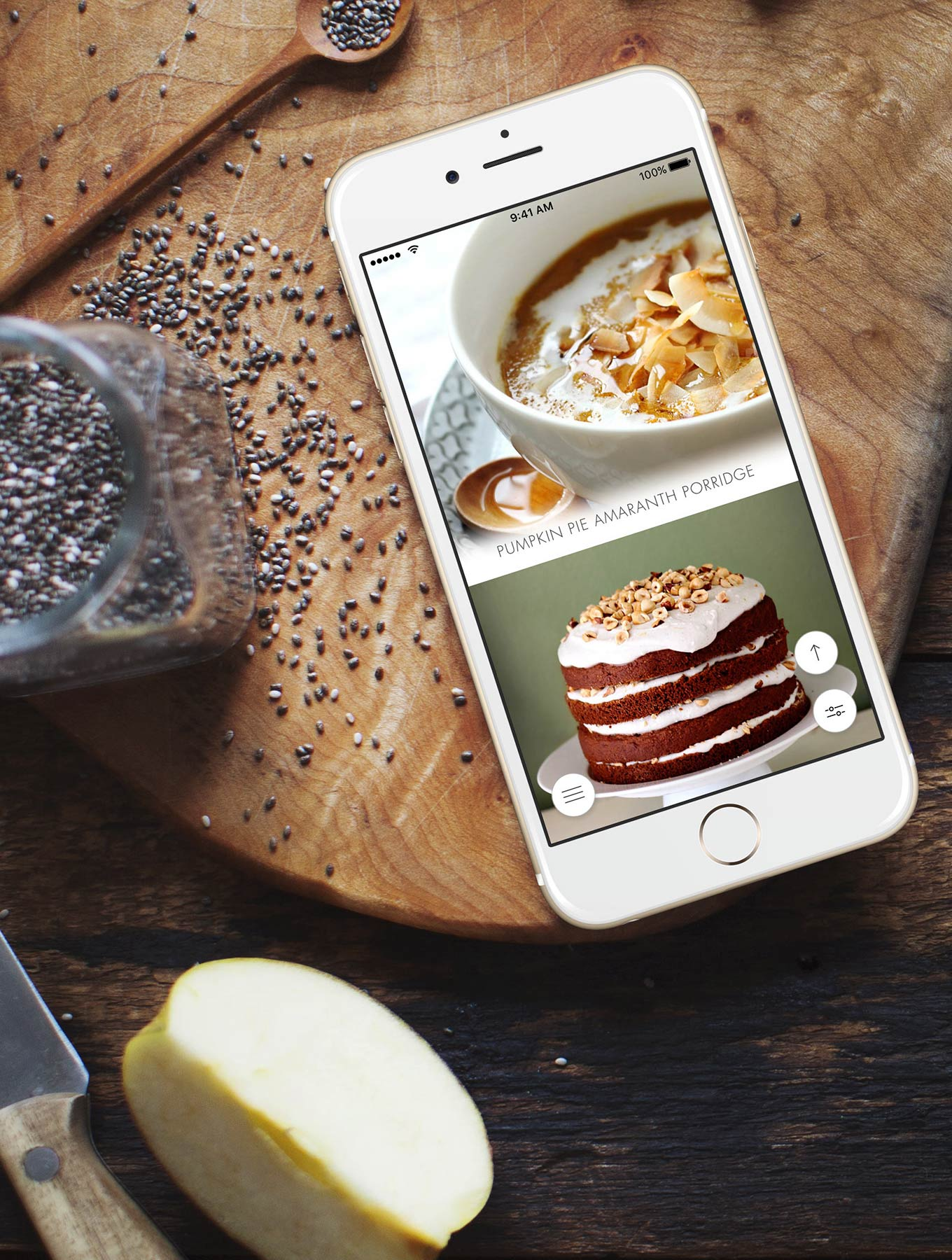 The My New Roots Recipe App