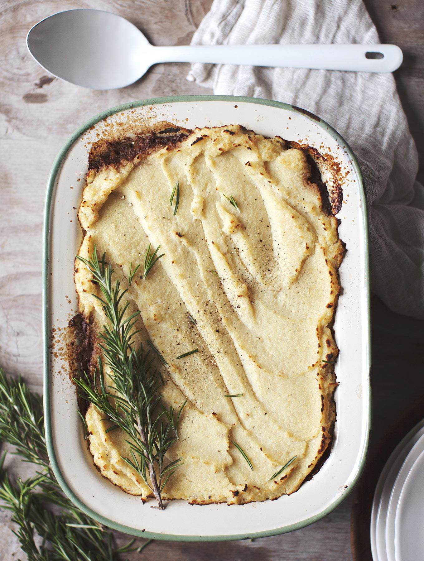My New Roots app recipe - Vegan Shepherd's Pie