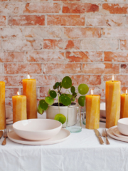 Burn the Best: Beeswax Candles