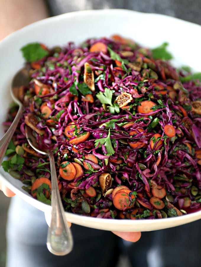 Purple Power Salad for a Picnic - My New Roots
