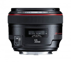 Canon 50mm f/1.2 lens
