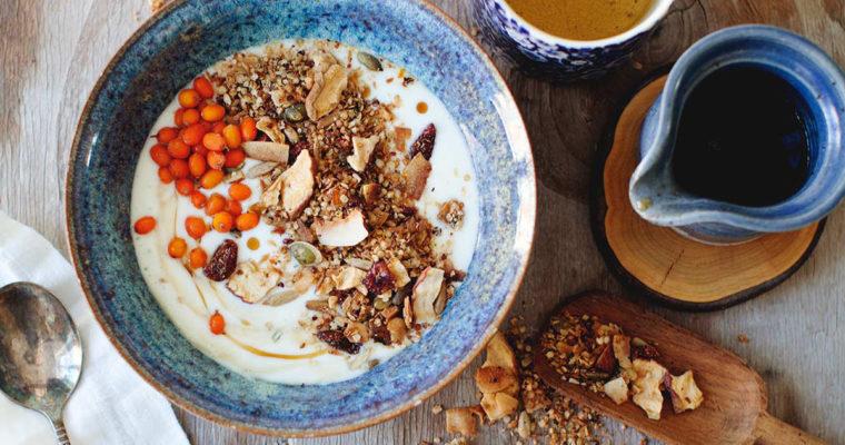 Emma's Tahini, Orange + Coconut Muesli
