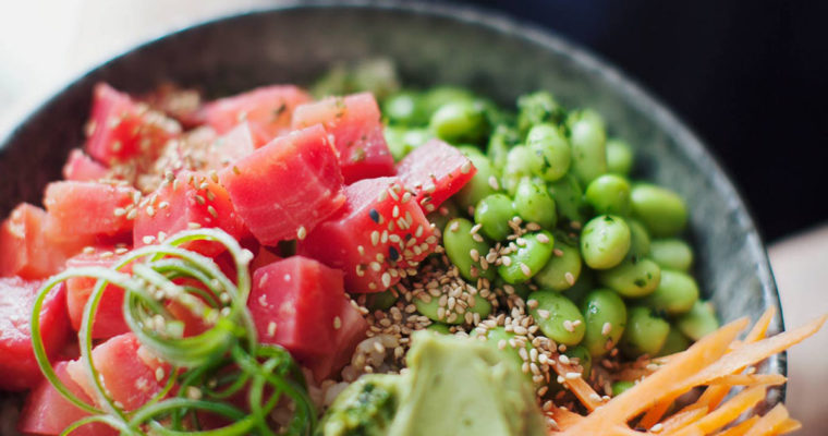 Poke-Inspired Beet Bowl