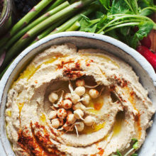 It's Alive! Sprouted Chickpea Hummus