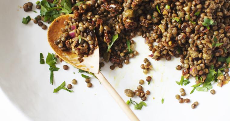 The Best Lentil Salad Ever