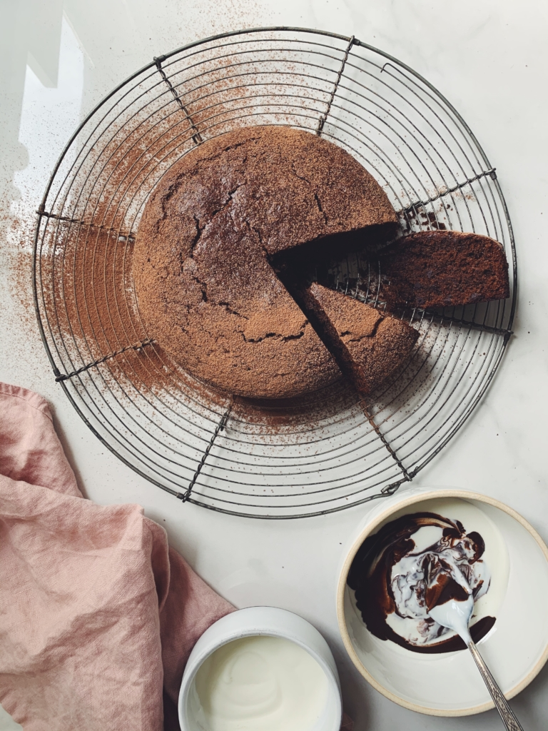 Cannelle et Vanille's Sourdough Chocolate Cake