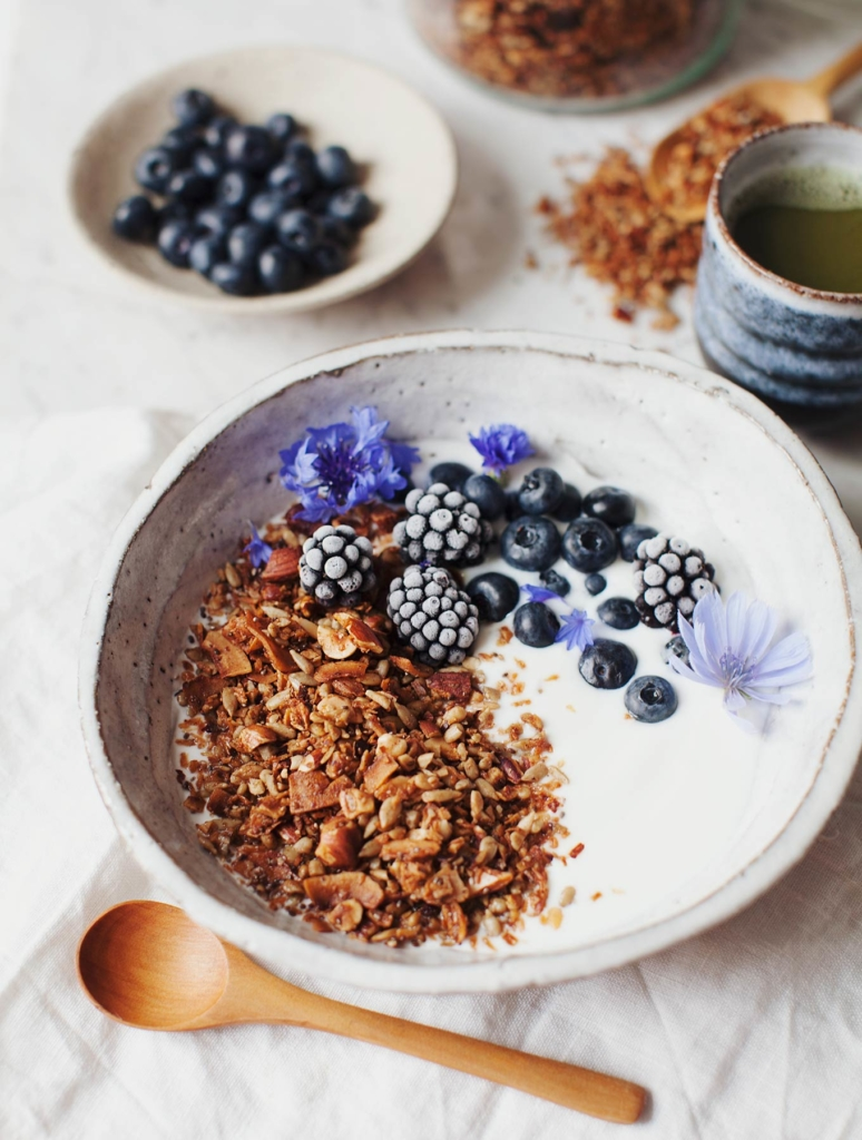 Maple Cinnamon Grain-Free Granola