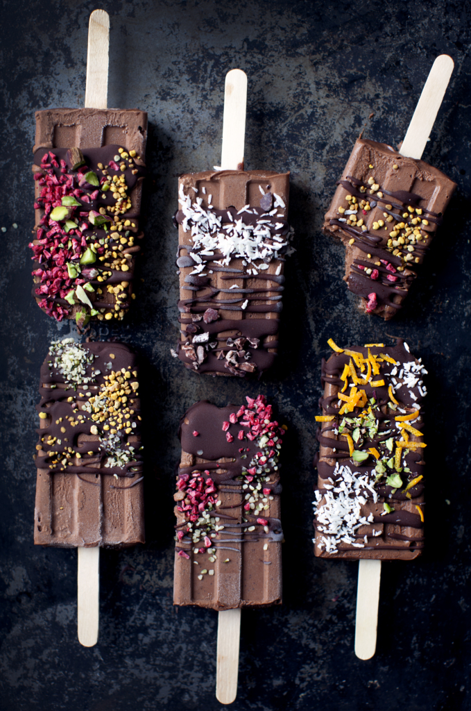 5-Ingredient Magical Fudgesicles